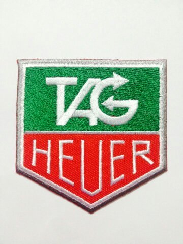 TAG Heuer Formula 1 One F1 Logo Pt02 Iron on Patches # with Free Gift, By Jupeter