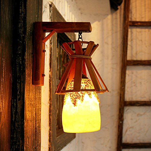 Pastoral Style Balcony Wall Lamp Creative European Corridor Art Coffee Shop, Bar Resin Wall Lighting 200400Mm Outdoor Kids Living Room Bedroom Wedding Birthday Party Gift