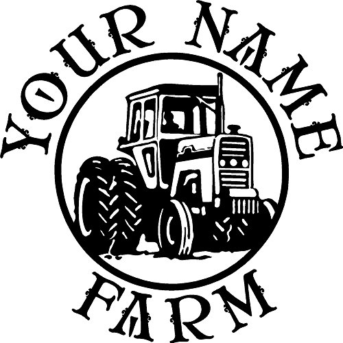 TRACTOR RANCH DECAL CUSTOM MADE WITH YOUR FARM NAME