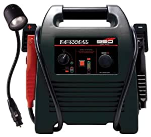 Schumacher IP-1850FL Instant Power Jump Starter With 12 Volt Flex Light