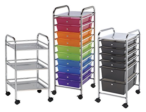 Blue Hills Studio SC6SM Storage Cart 6-Drawer (Standard