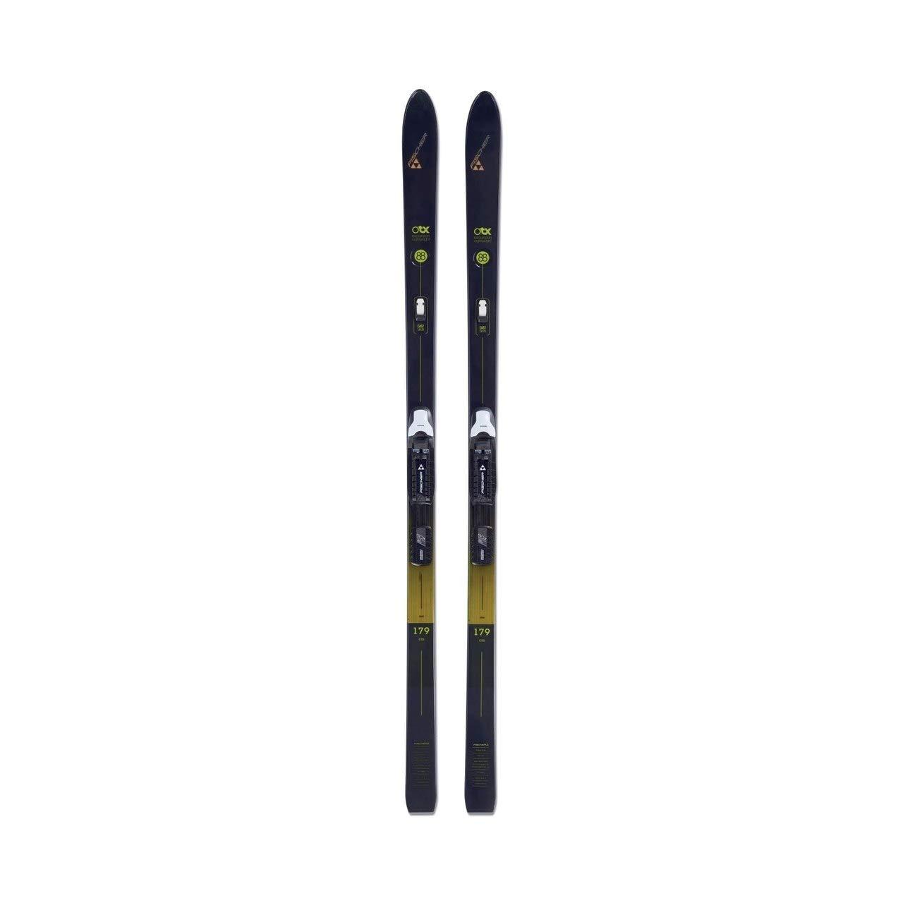 Fischer Excursion 88 Crown/Skin Cross Country Ski - 179cm - Black/Yellow by Fischer