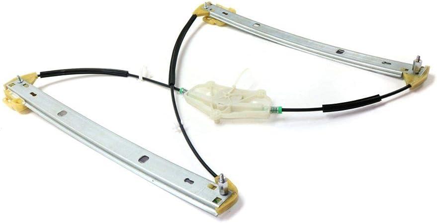 Madlife 8E0837462B Regulador el/éctrico de ventana del lado del chofer delantero derecho con motor O para Exeo 2000-2008 A4 2008 en adelante