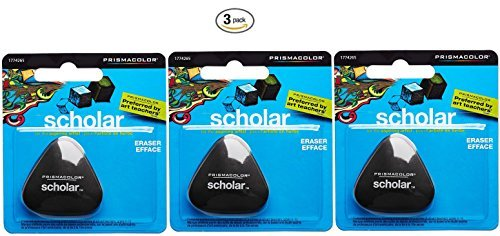 UPC 638458967998, Prismacolor Scholar Pencil Eraser (Pack of 3)