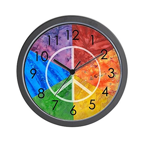 CafePress - Color Wheel Peace Sign - Unique Decorative 10