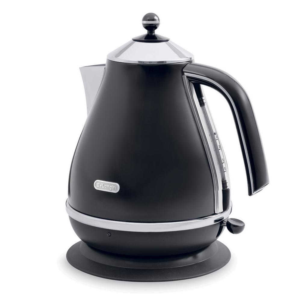 DeLonghi KBO1401BK Icona Collection 1.7L Electric Kettle