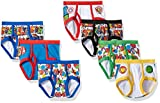 Marvel Boys' Toddler 7-Pack Superhero Adventures Brief Underwear