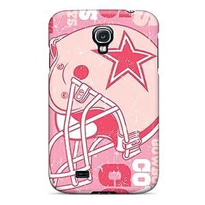 Premium Tpu Dallas Cowboys Cover Skin For Galaxy S4