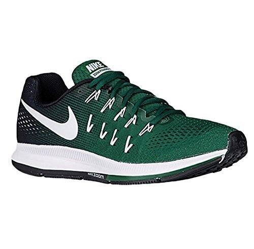 bas prix f748f 9ca2c Nike Men's Air Zoom Pegasus 33 Running Shoes (11.5 D(M) US, Vert  Gorge/Noir/Platine/Black)