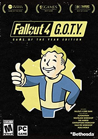 Fallout 4 Game of The Year Pip-Boy Edition - PC