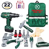 ORRENTE Kids Tool Set, Deluxe Power Toy Tool Set with Motion Function