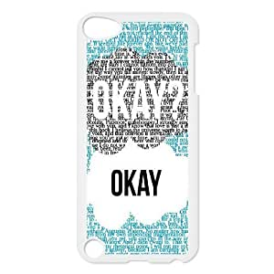 C-EUR Customized Print Okay Okay Pattern Hard Case for iPod Touch 5