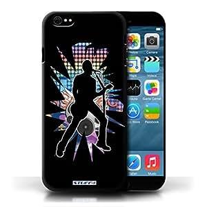 KOBALT? Protective Hard Back Phone Diy For Touch 4 Case Cover   Singer Black   Rock Star Pose Collection