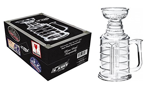 The Hockey Cup 25 oz Beer Stein Mug With Case -