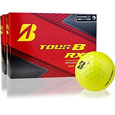 Bridgestone Tour B RX Yellow Golf Balls - 2 Dozen
