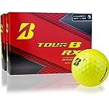 Bridgestone Tour B RX Yellow Golf Balls - Double Dozen
