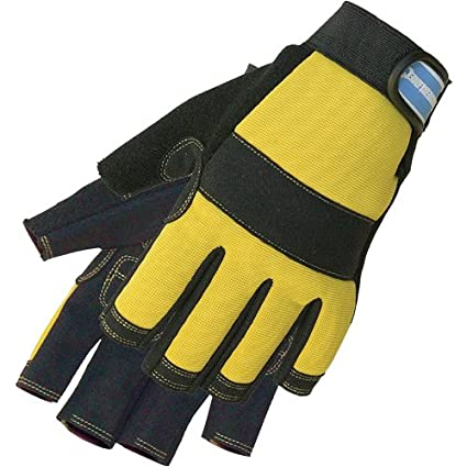 Silverline 633906 Fingerless Mechanics Gloves - Medium SLTL4