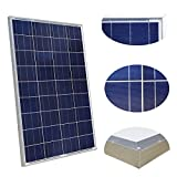 100 Watt Solar Panel Polycrystalline Photovoltaic ZODORE PV Module 90mm cable with MC4 12V Battery Charging for RV Boat Caravan, camper or yacht, for off-grid / backup solar power systems 100 watt