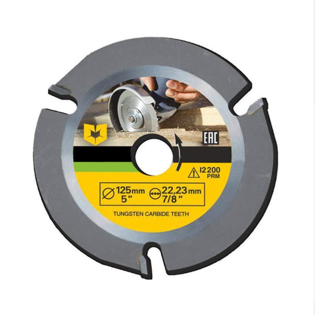 Lama per sega circolare 125mm 3T Multitool smerigliatrice per sega a disco disco da taglio legno carburo