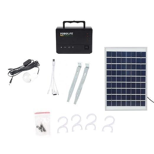 DGdolph Panel Solar portátil Generador de Almacenamiento de ...