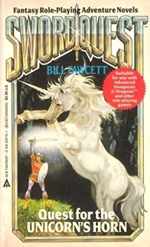 book cover of Quest for the Unicorn\'s Horn