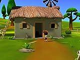 A Little Boy in the Barn