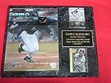 Mariners Ichiro Suzuki 2 Card Collector Plaque #1 w/8x10 Photo!