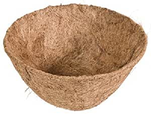 "Panacea Products 88593 16"", Round, Coco Fiber Basket Liner - Quantity 36"