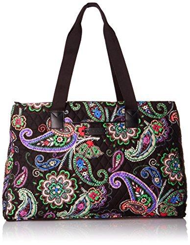 Triple Travel Bag (Vera Bradley Triple Compartment Travel Bag Cuban Tiles with Navy 5943-G03951)