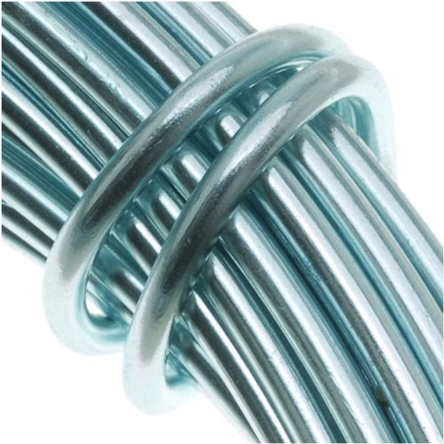 Aluminum Craft Wire 12 Gauge 39 Feet ICE BLUE 42606 by Minor Details