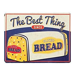 Open Road Brands Blue, Yellow and White The Best Thing Sliced Bread Loaf Magnet - an Officially Licensed Product Great Addition to Add What You Love to Your Refrigerator