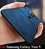 MobiTussion® - Deer Series - Shockproof Anti Slip Soft Fabric Case with with Camera Protection Protective Back Case Cover for Samsung Note 9