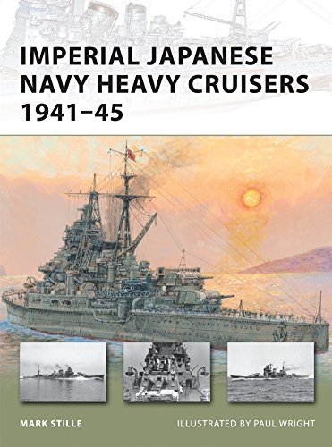 Imperial Japanese Navy Heavy Cruisers 1941-45 (New Vanguard)