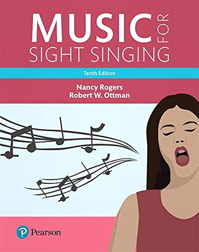 Music for Sight Singing, Student Edition (10th Edition) (What's New in Music) by Pearson