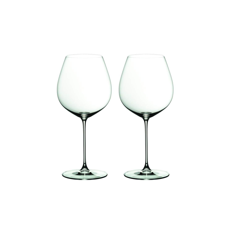 Riedel 6449/07 Veritas Pinot Noir Wine Glasses, Set of 2, Clear