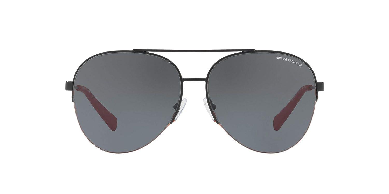 d7f2f07f630 Amazon.com  Armani Exchange Men s Metal Man Aviator Sunglasses ...