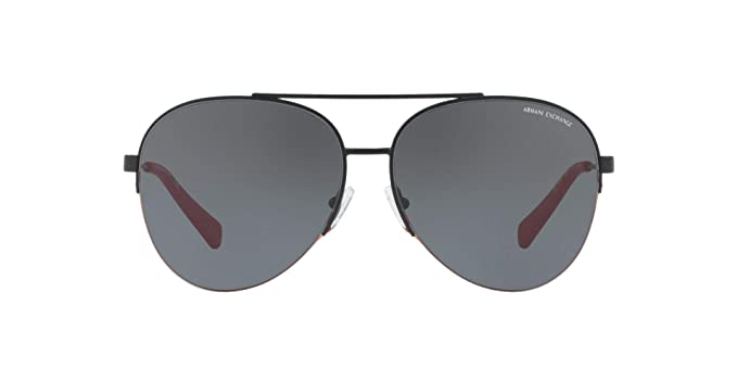 fad522b9bd6be Amazon.com  Armani Exchange Men s Metal Man Aviator Sunglasses ...