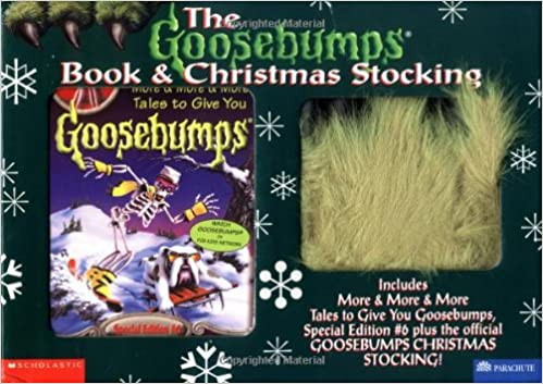 Buy the goosebumps book and christmas stocking includes more more buy the goosebumps book and christmas stocking includes more more more tales to give you goosebumps special edition 6 plus the official goosebumps fandeluxe Images