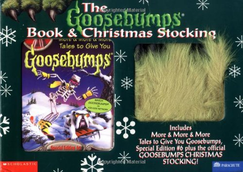 Buy the goosebumps book and christmas stocking includes more more buy the goosebumps book and christmas stocking includes more more more tales to give you goosebumps special edition 6 plus the official goosebumps fandeluxe Gallery