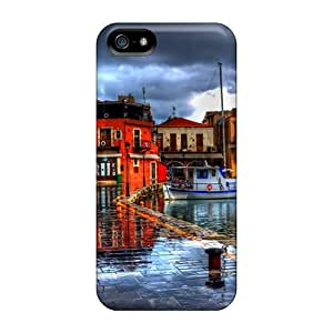 New Cute Funny Greece In Hdr Case Cover/ Iphone 5/5s Case Cover