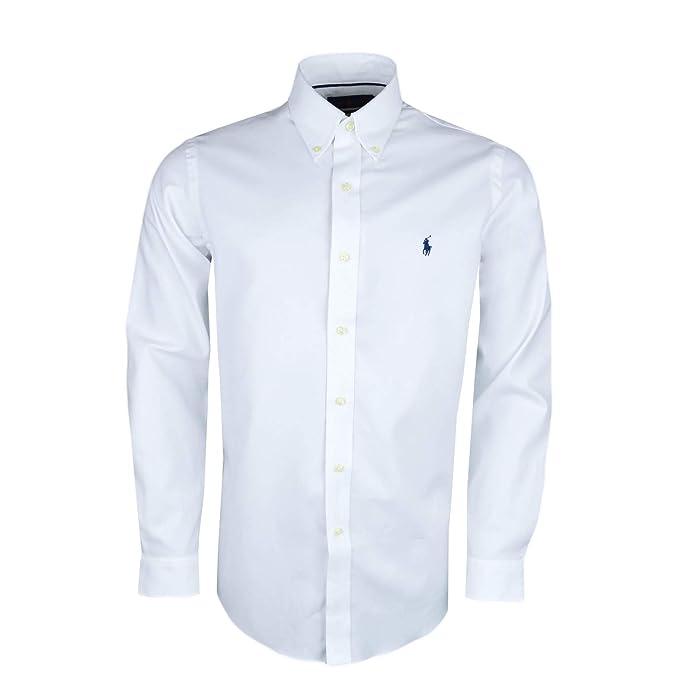 Ralph Lauren - Camisa Casual - Chaqueta - para Hombre Blanco L