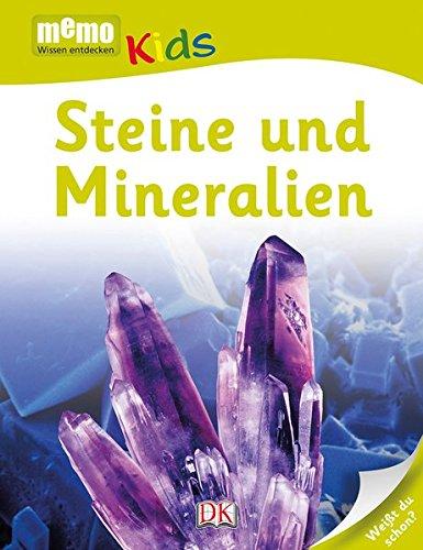 memo Kids. Steine und Mineralien Gebundenes Buch – 4. Juni 2014 Feryal Kanbay Kristine Harth Dorling Kindersley 3831025967