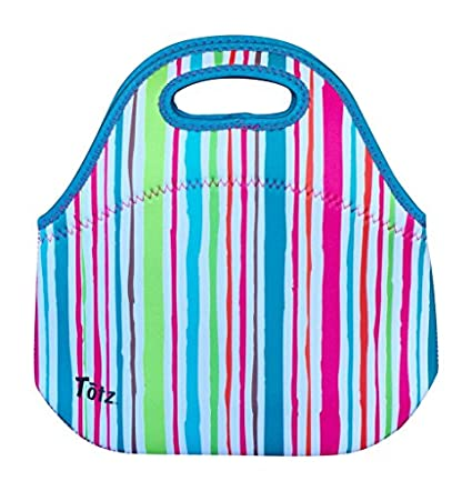 KOVERZ - #1 Neoprene Lunch Bag, Lunch Tote - CHOOSE YOUR STYLE! - American Flag LadyEdison & Co.