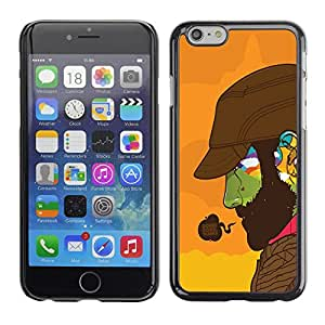 Impact Case Cover with Art Pattern Designs FOR iPhone 6 Doing Good Colorful Face Betty shop