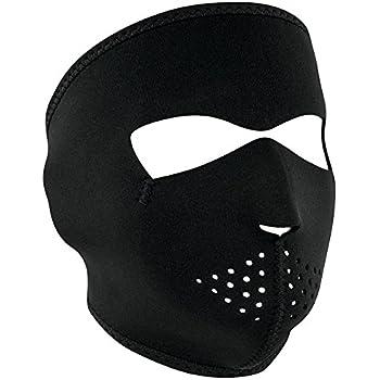 ZANheadgear Black Neoprene Face Mask