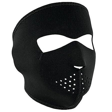 Zanheadgear Neoprene Full Face Mask, Smiley Face WNFM071