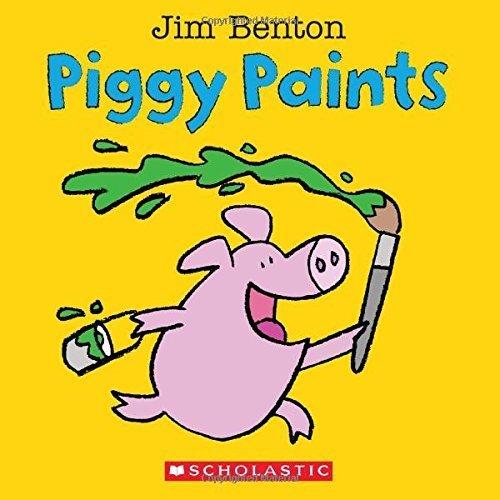 Piggy Paints Jim Benton 2015 01 06 product image