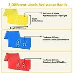 Gritin-Bande-Elastiche-Fitness-3-Pezzi-Fasce-Elastiche-di-Resistenza-di-Lattice-Naturale-con-3-Livelli-per-Yoga-Pilates-Allenamento-Fisioterapia-Riabilitazione-Borsa-per-Il-Trasporto-Incluso