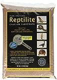 Carib Sea SCS00712  Reptiles Calcium Substrate Sand, 10-Pound, Baja Tan , pack of 4.