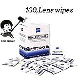 Lens Wipes - Suitable for Eyeglasses, Cellphones, Tablets, Camera Lenses, Swim Goggles,